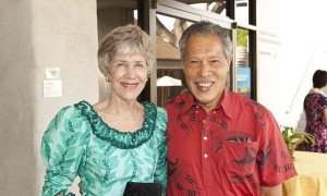 Academy Trustees Lynne Johnson and Dr Charmin Akina
