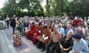 Opening ceremony of Bhutan: Heilige Kunst as dem Himalaya at the Museum Rietberg