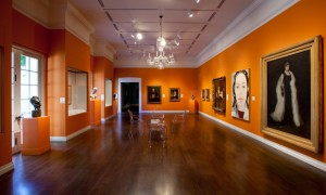 The newly installed Portraiture Gallery, 2011.