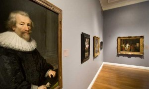 The before shot: Gallery 5, 17th-century European art