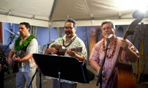Pa'ahana serenaded the crowd.