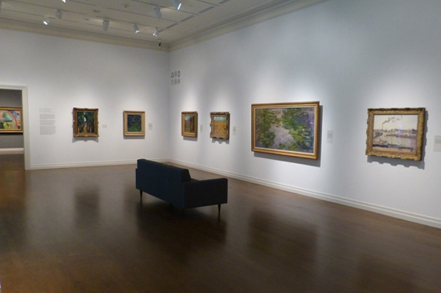 """""""Wheat Field"""" by Vincent van Gogh is back on view in our Impressionist + post-Impressionist art gallery."""