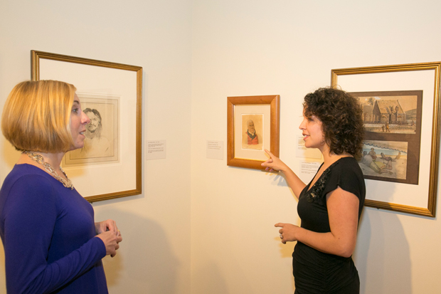 "Curator of European and American Art Theresa Papanikolas and Healoha Johnston discuss works on view in ""Encounters with Hawai'i: Art in an Age of Exploration, 1778–1820"""