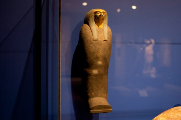 'Falcon Mummy Case,' Egypt c. 332-30 B.C.