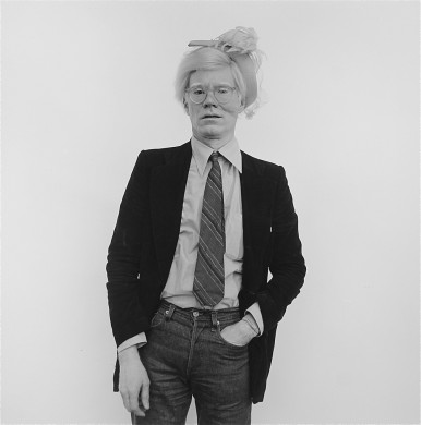 Paul Weiss (American). Andy Warhol, 1979. Gelatin silver print. Gift of James Paulauskas, 1986