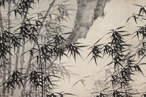 Detail of 'Pure Wind in a Mountain Valley,' traditionally attributed to Xia Chang