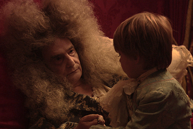 Jean-Pierre Léaud 57 years later in The Death of Louis XIV.