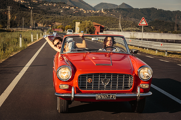 Valeria Bruni Tedeschi and Micaela Ramazzotti hit the road in Like Crazy—Thelma and Louise Italian style.