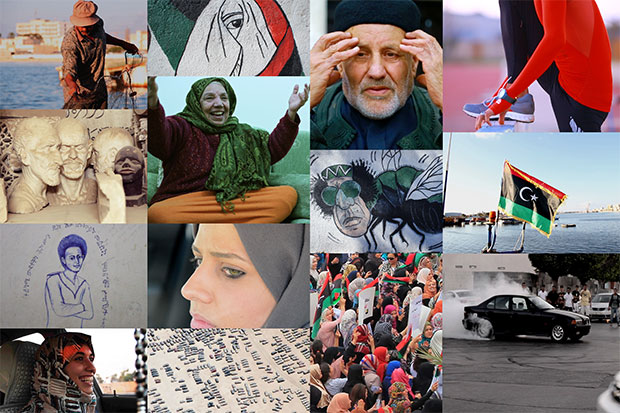 Stills from the short film series 'Libya in Motion.'