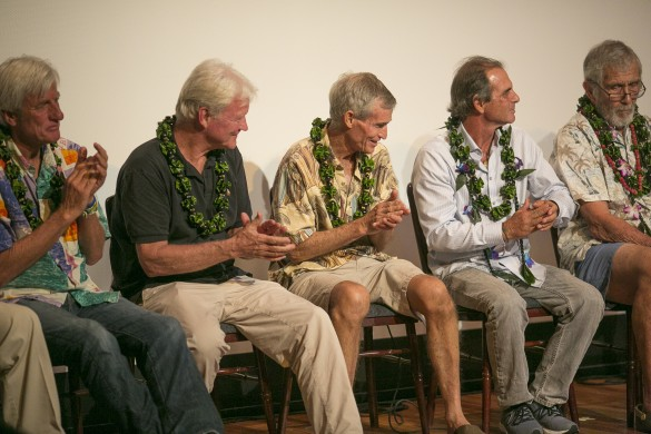 Mark Cunningham, Randy Rarick, Jock Sutherland, Darrick Doerner and Kimo Hollinger at last year's closing-night panel.
