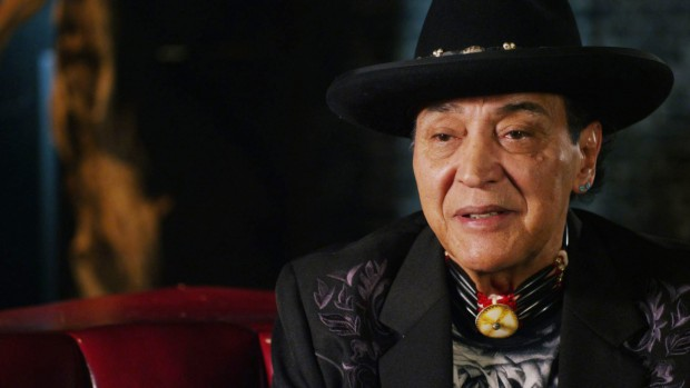 Still of Pat Vegas from  Rumble: The Indians Who Rocked the World