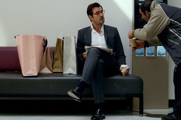 "Claes Bang plays an art curator who finds himself in a moral quagmire in ""The Square"""