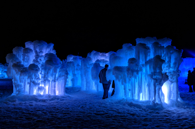 The Ice Castle.