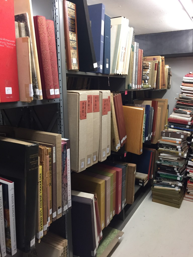 Some of the library's oldest books.