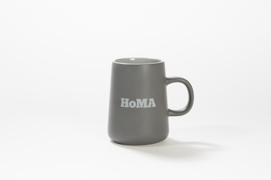 Dad will love sipping coffee (or tea) from this HoMA mug.