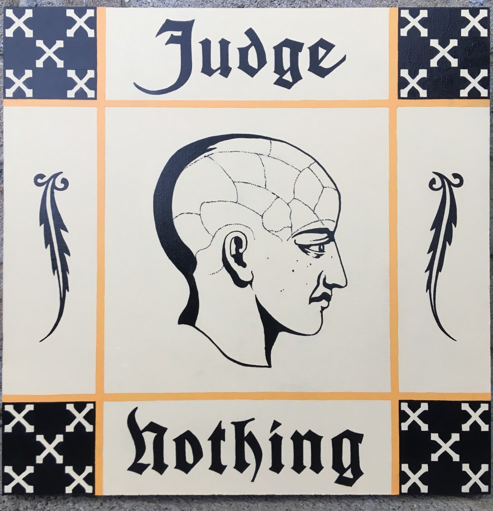 """Judge Nothing"" by Adam Tompkison"