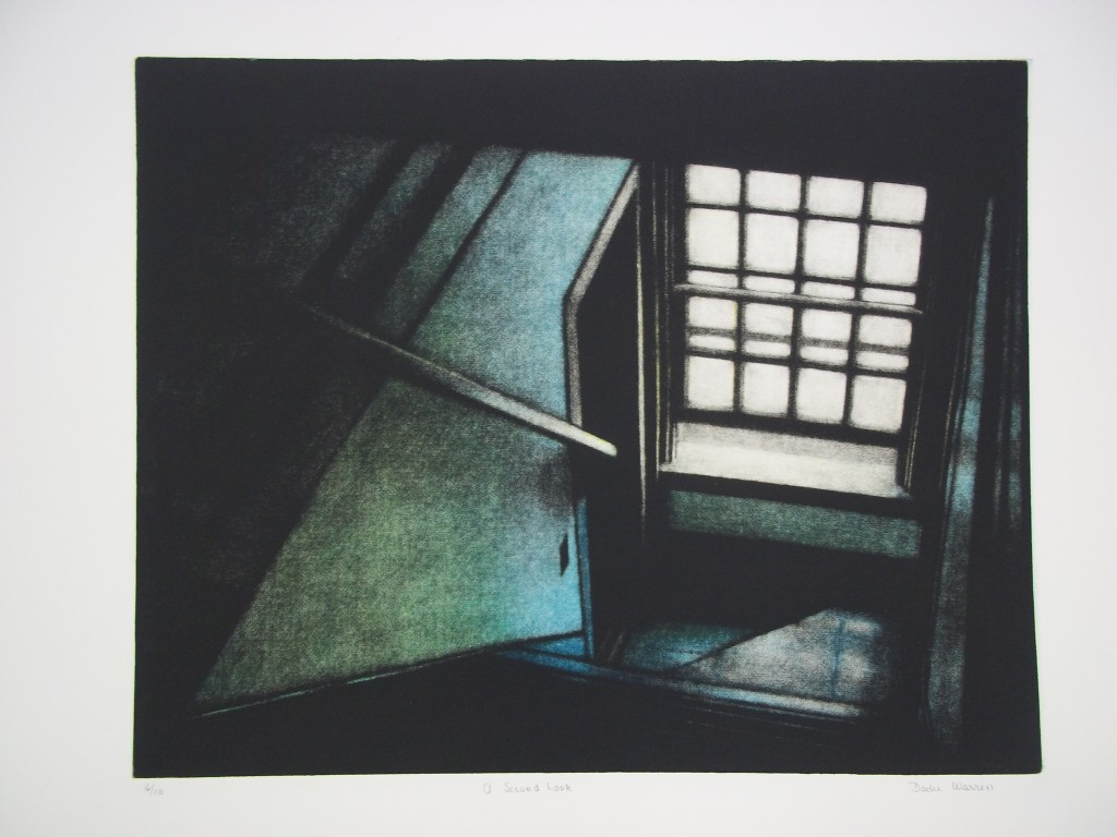"Dodie Warren  American, born 1929 ""A Second Look,"" 1983 Mezzotint Purchase, 1984 (18937)"