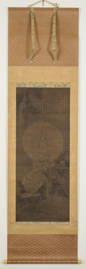 Unknown artist White-robed Guanyin China, Yuan dynasty (1271-1368), 14th century Hanging scroll; ink on silk Purchase, Richard Lane Collection, 2003 (2005.28)